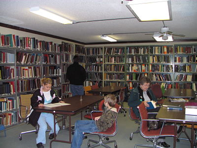 Main Research Room